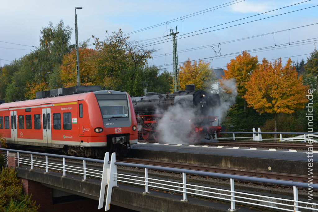 Bild 1 Rheingold Dampflok 41 096