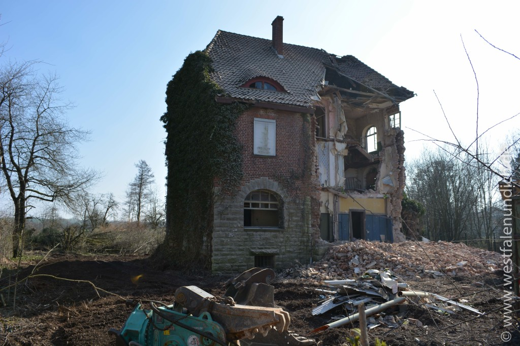 Stadtvilla wird abgerissen - Bild 01