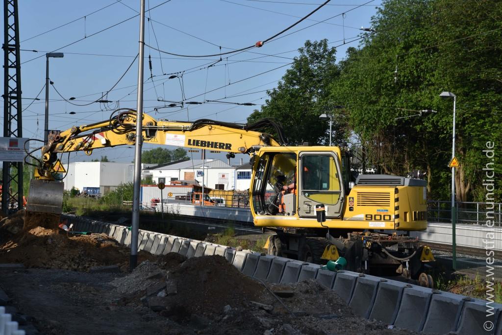Steinheim - Modernisierung des Bahnhofes - Bild 03 - 04.06.2015