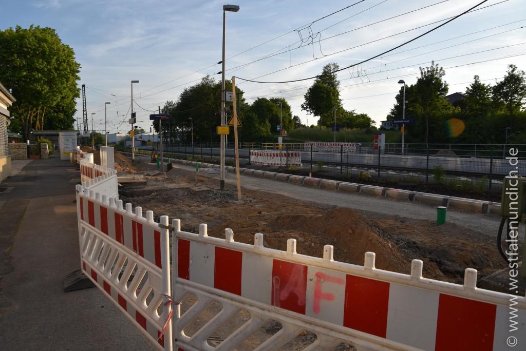 Steinheim - Modernisierung des Bahnhofes - Bild 04 - 07.06.2015