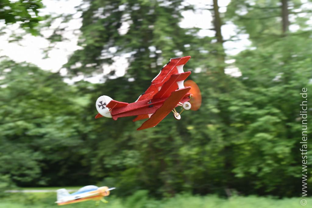 Flugvorführungen des Modellverein Burgschwalbe - Bild 01