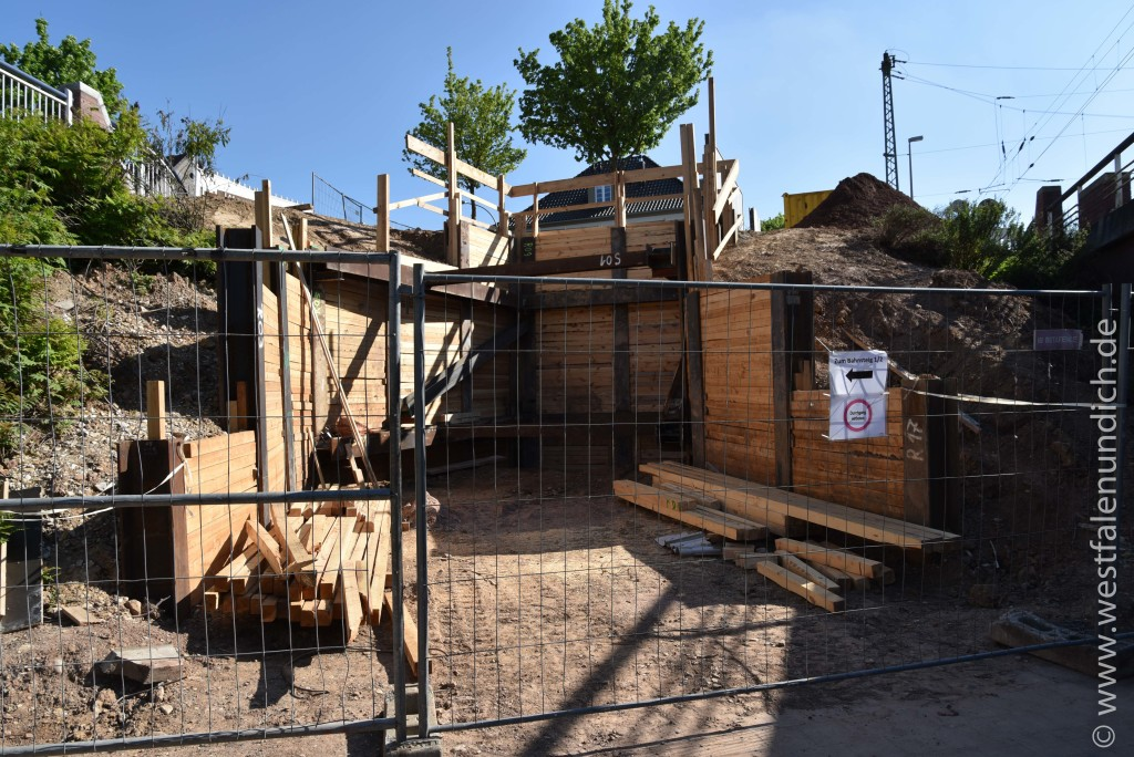 Steinheim - Modernisierung des Bahnhofes - Bild 07 - 15.05.2015