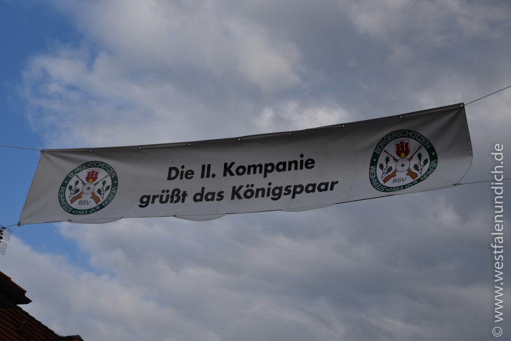 Jubiläumsschützenfest 2015 - Donnerstag - Straßen schmücken - Bild 02