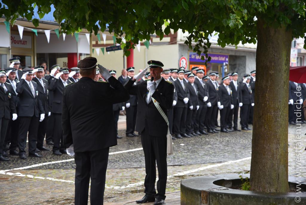 Steinheim - Jubiläumsschützenfest 2015 - Freitag - Bild 04