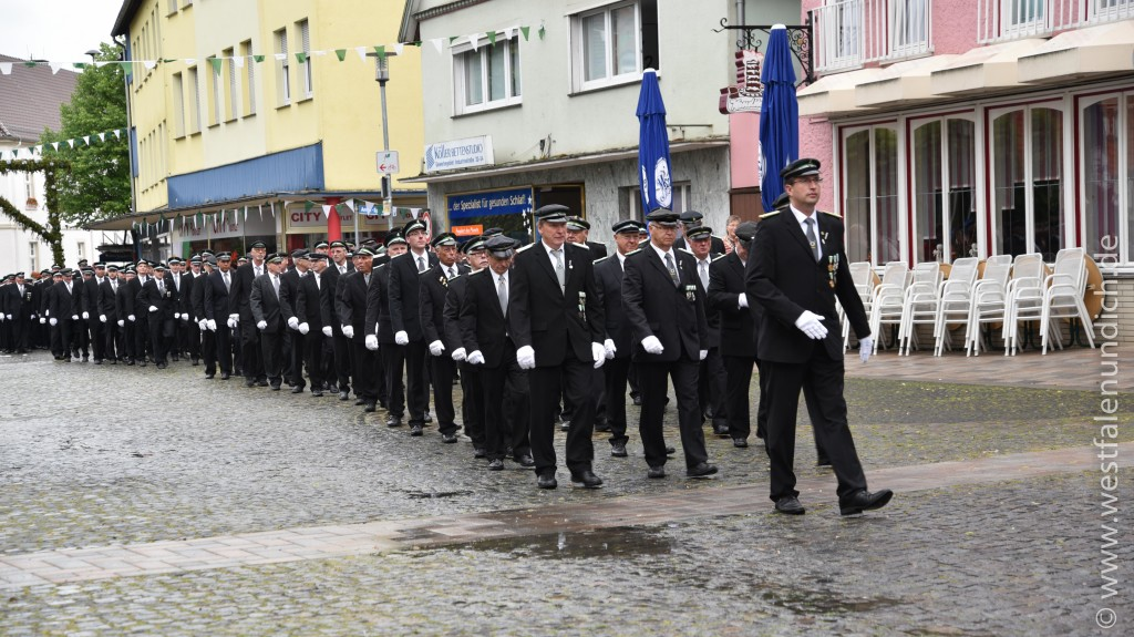 Steinheim - Jubiläumsschützenfest 2015 - Freitag - Bild 02