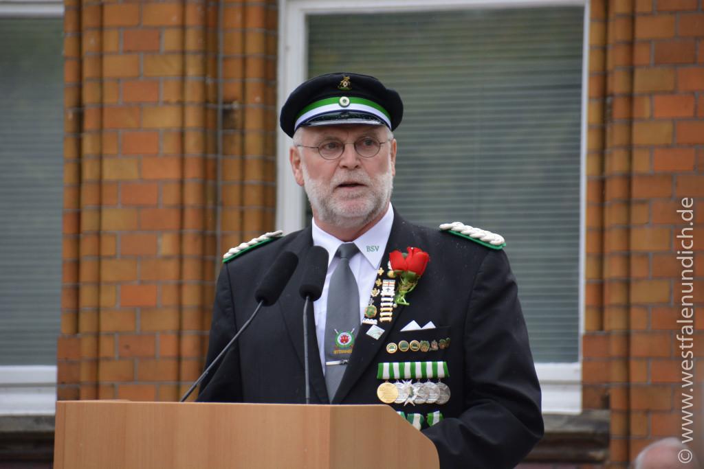 Festansprachen zum Jubiläum - Herr Udo Schelling (BeSte Stadtwerke)