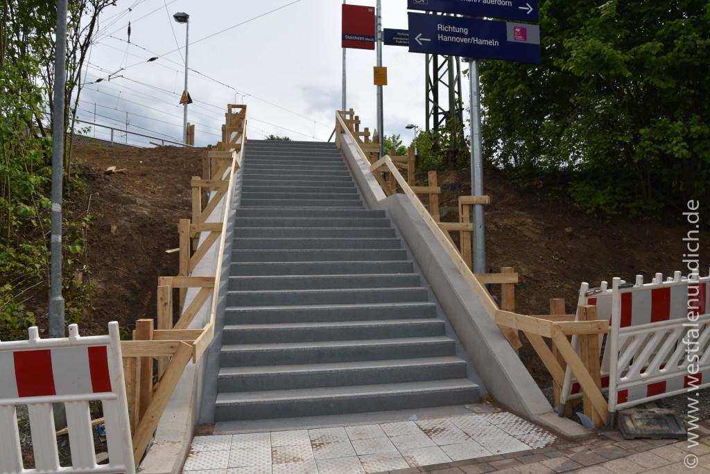 Steinheim - Modernisierung des Bahnhofes - Bild 06 - 29.05.2015