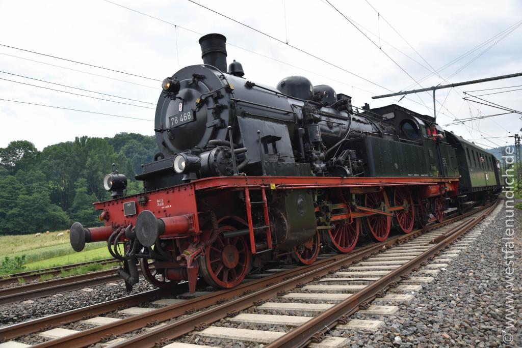 Dampflokomotive 78 468 - Bild 02