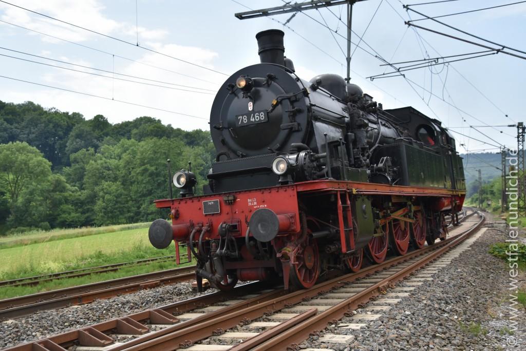 Dampflokomotive 78 468 - Bild 01