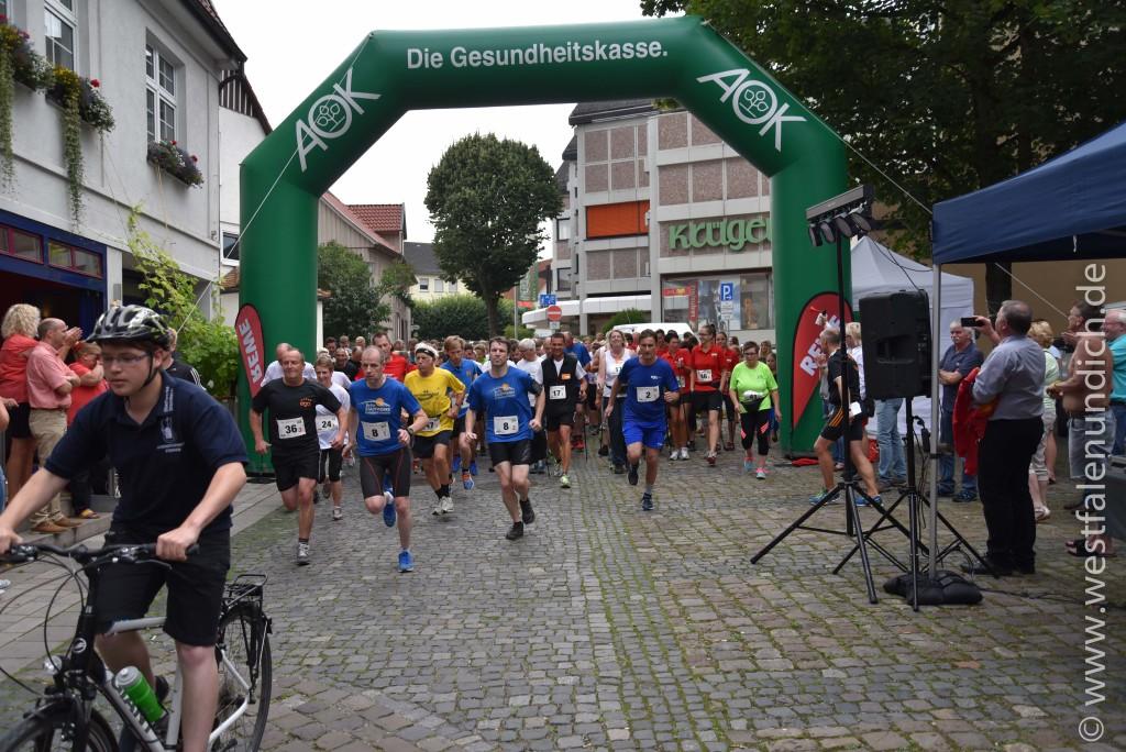 5. ego-AOK-Firmenlauf in Steinheim - Bild 01