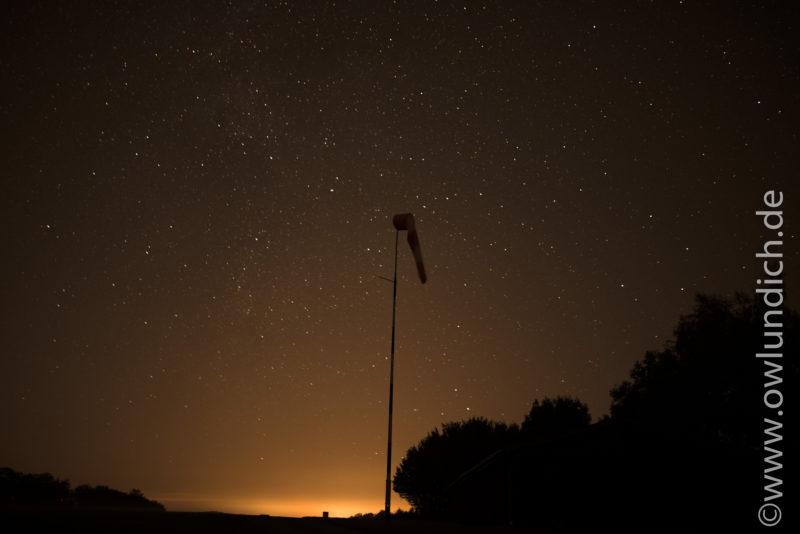 Sternenfotografie im Kreis Höxter - Bild 01 - Aufnahmeort: Segelflugplatz Vinsebeck