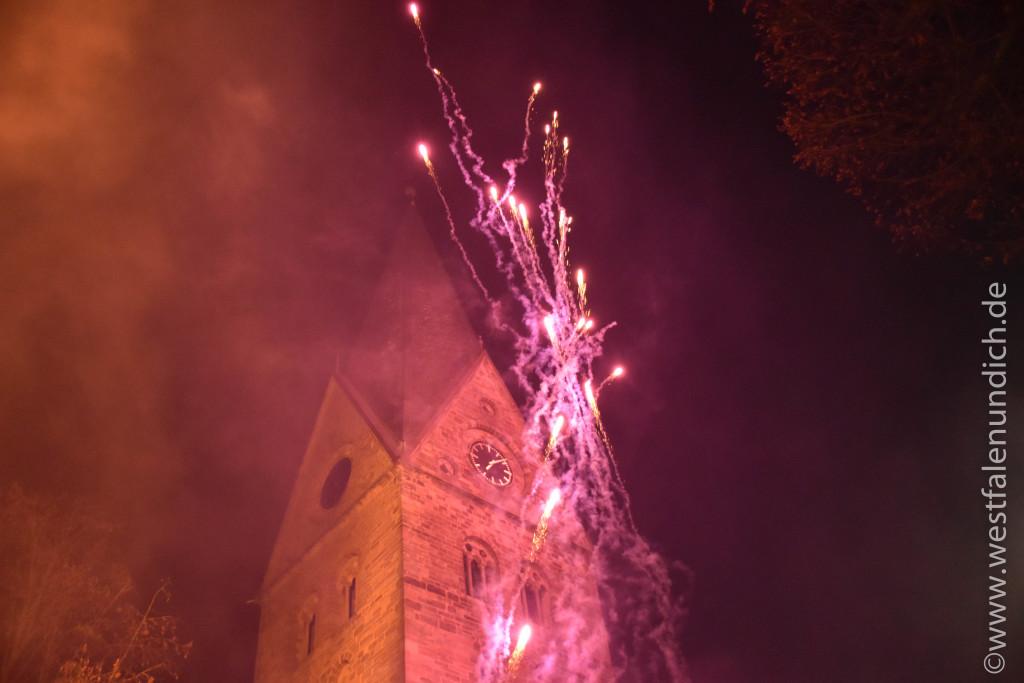 Steinheim – Reineccius-Markt 2015 - Feuershow - Bild 01