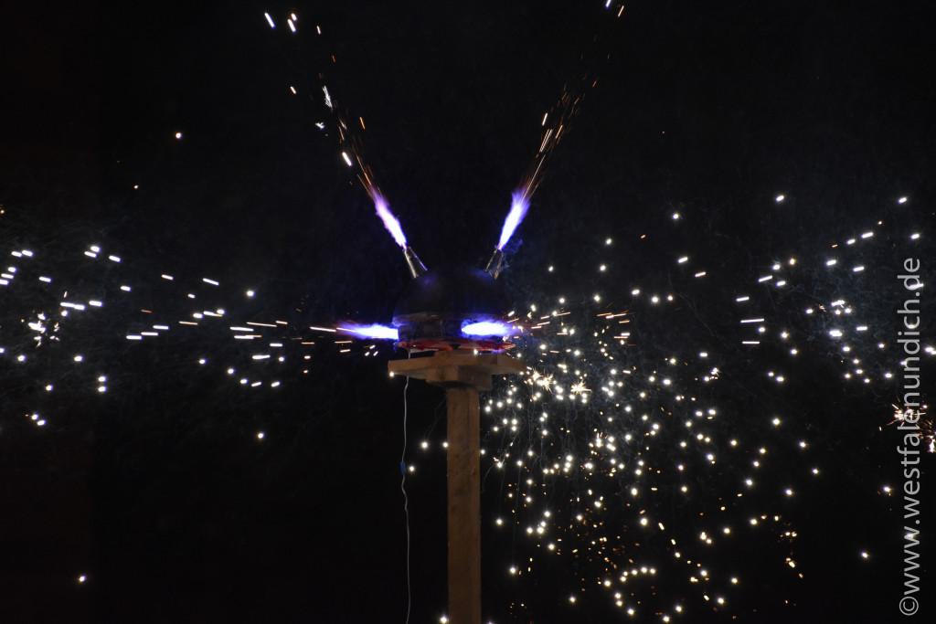 Steinheim – Reineccius-Markt 2015 - Feuershow - Bild 02