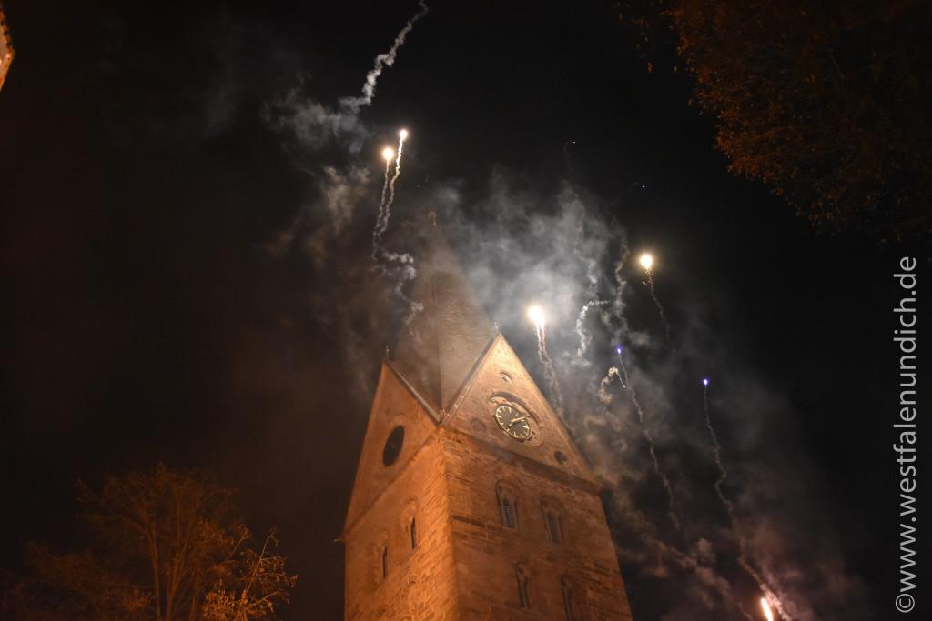Steinheim – Reineccius-Markt 2015 - Feuershow - Bild 03