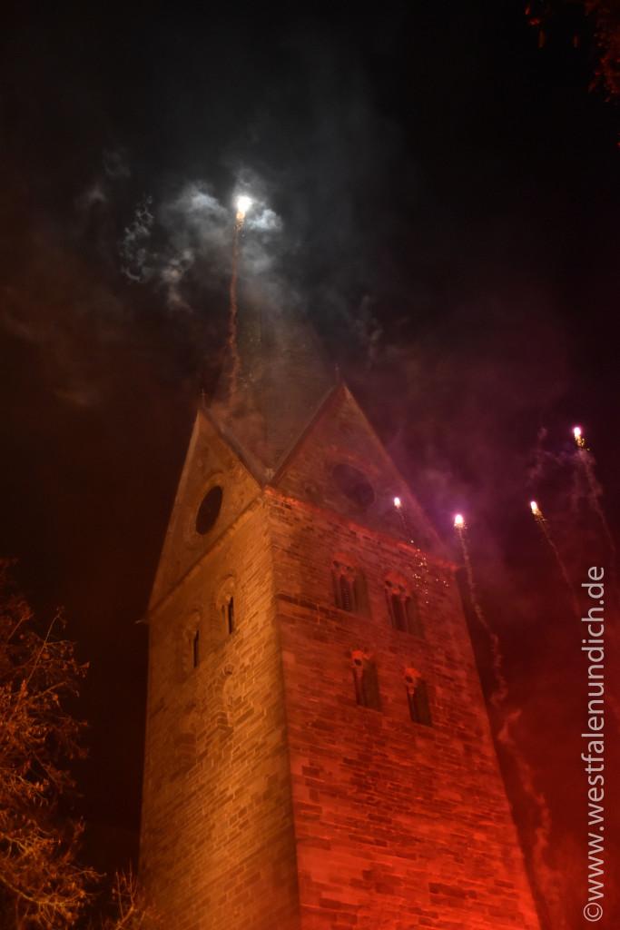 Steinheim – Reineccius-Markt 2015 - Feuershow - Bild 04