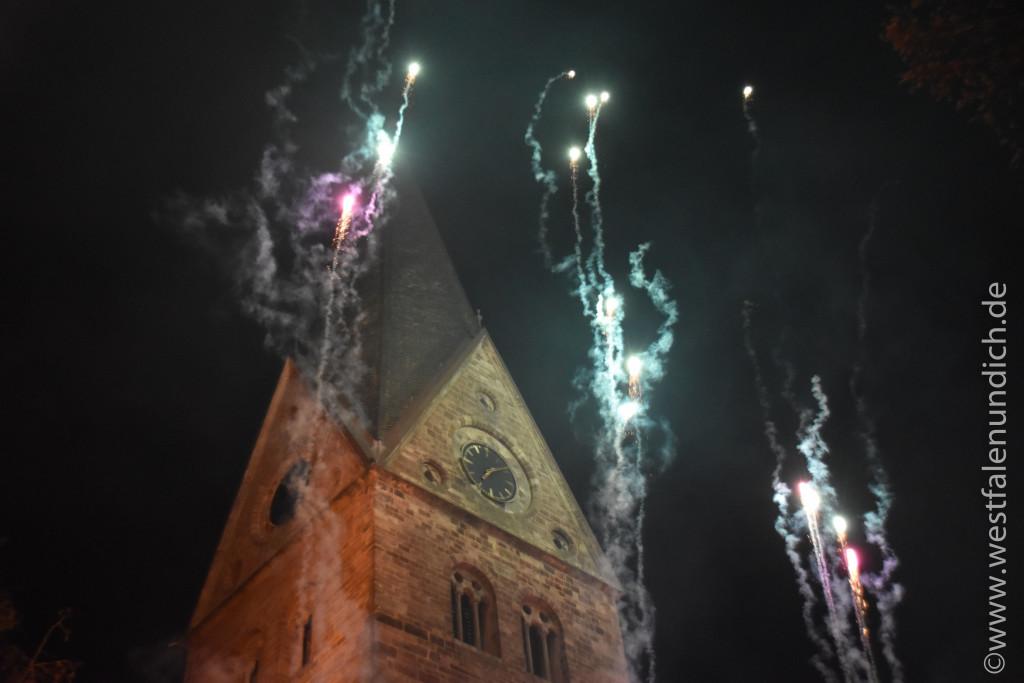 Steinheim – Reineccius-Markt 2015 - Feuershow - Bild 05