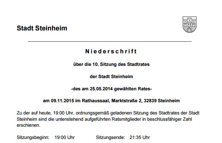Steinheim - Flüchtlingssituation - Bild 06