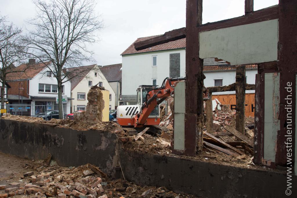 Steinheim - Abriss der alten Moschee - Bild 02