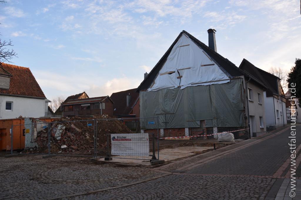 Steinheim - Abriss der alten Moschee - Bild 01