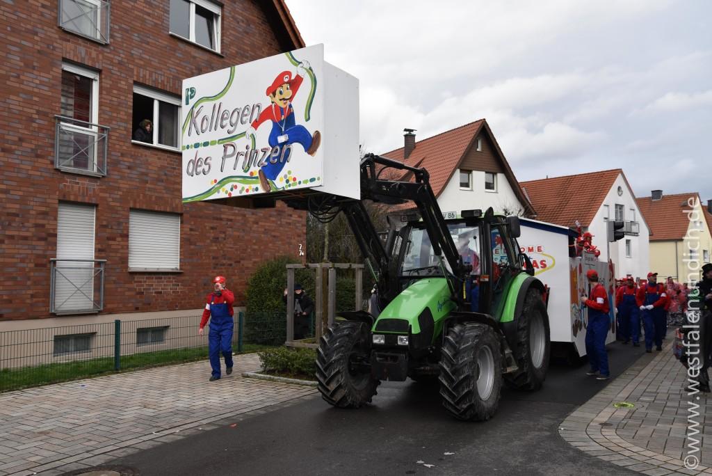 Rosenmontag 2016 – Steinheim - W16 - Super Matthias Kollegen des Prinzen - Bild 01