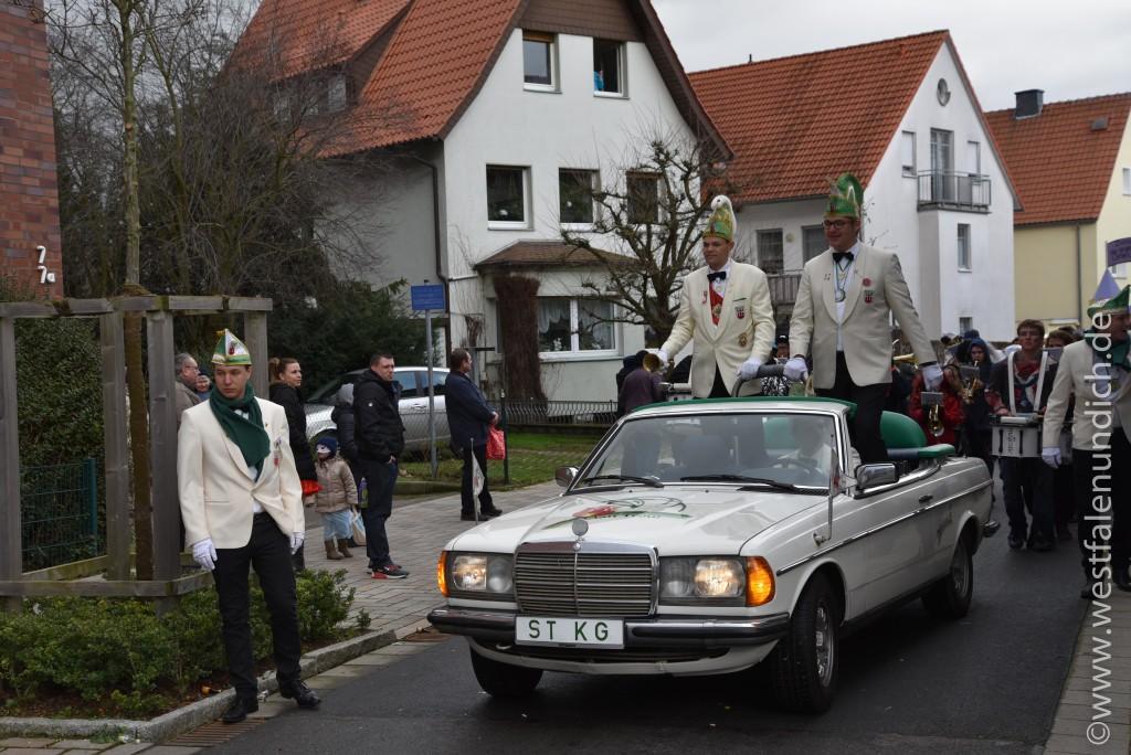 Rosenmontag 2016 – Steinheim - W2 - Präsidentenwagen - Bild 01
