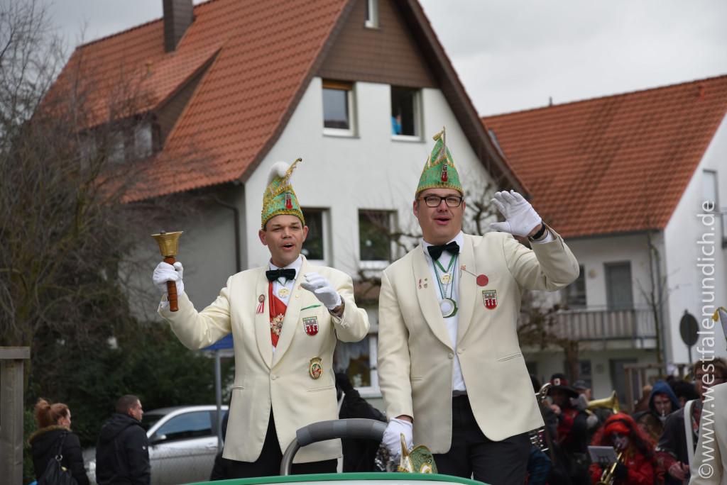 Rosenmontag 2016 – Steinheim - W2 - Präsidentenwagen - Bild 03