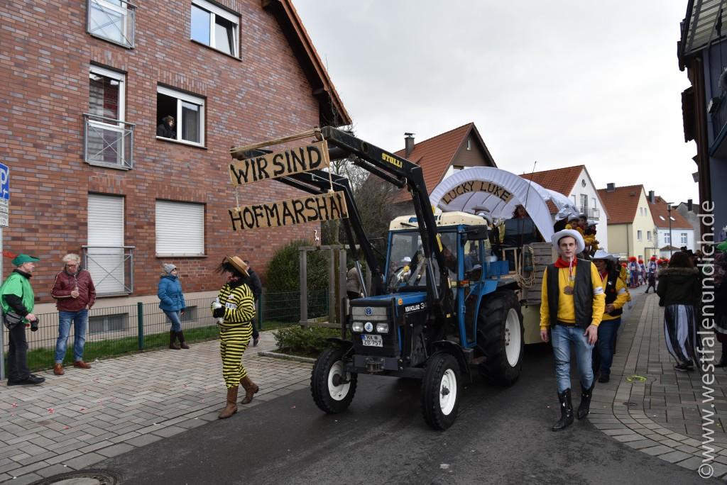 Rosenmontag 2016 – Steinheim - W4 - Lucky Kuke voll Bäääm - Bild 02