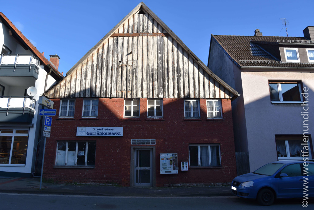 Steinheim - Stadtumbau West und der Abriss von alten Gebäuden - Bild 04