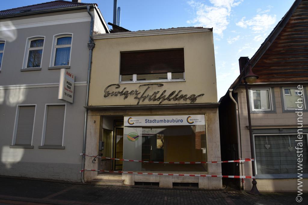 Steinheim - Stadtumbau West und der Abriss von alten Gebäuden - Bild 05