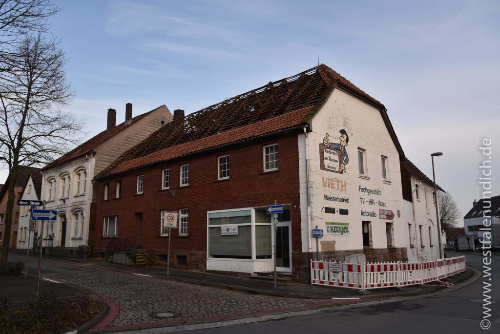 Steinheim - Stadtumbau West und der Abriss von alten Gebäuden - Bild 09
