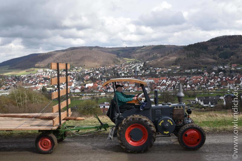 Osterräderlauf Lügde 2016 - Traktor - Bild 14