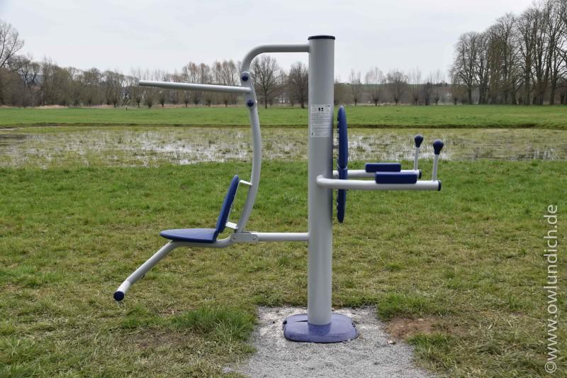 Neue Sportgeräte - Otto-Lüke-Weg - Bild 02 - Station