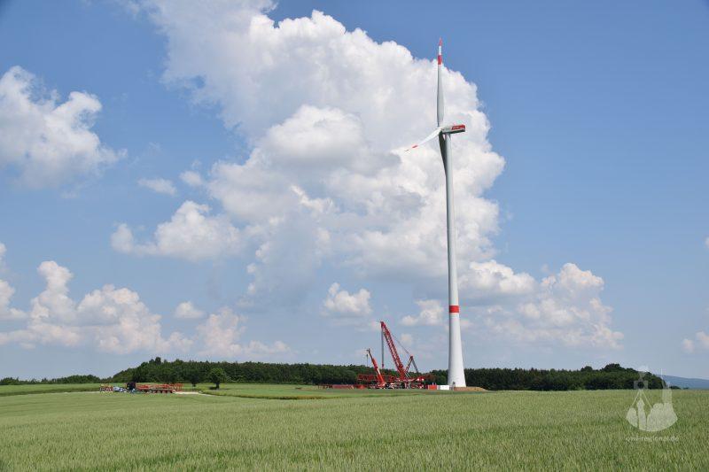 Windkraft bei Holzhausen 2016 - Bild 04