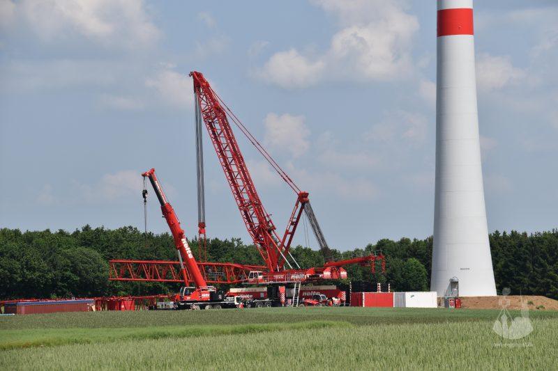 Windkraft bei Holzhausen 2016 - Bild 02