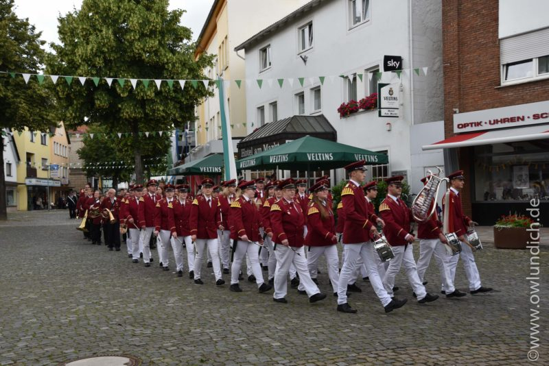 Steinheim - Schützenfest 2016 - Sonntag - Bild 01