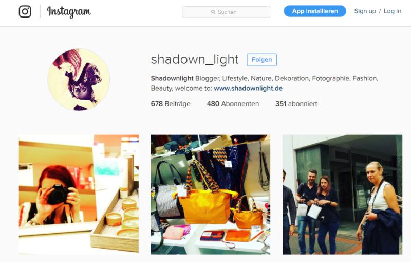 Bad Driburg - Sommernachts-Shopping 2016 - Blogger und Bloggerinnen - Bild 04 - Quelle: https://www.instagram.com/shadown_light/