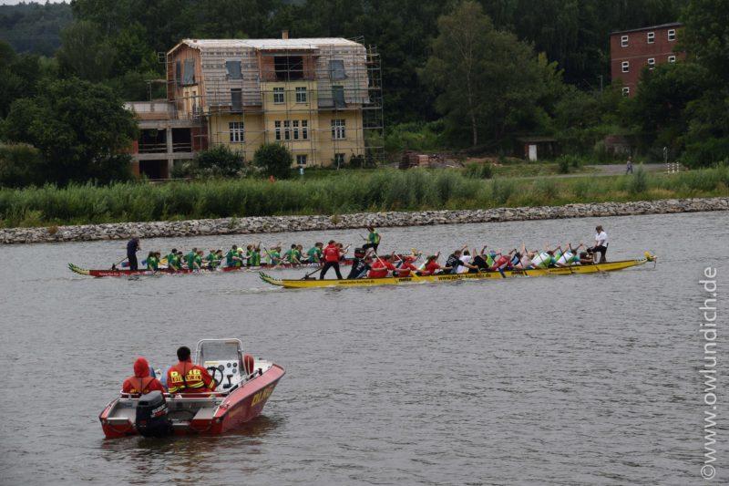 Schieder - 1. AOK Drachenbootrennen in Lippe - Bild 01