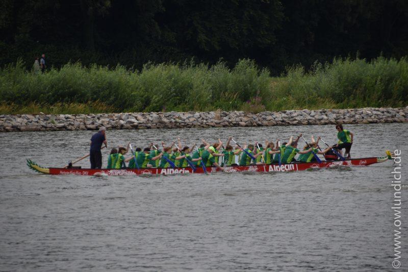 Schieder - 1. AOK Drachenbootrennen in Lippe - Bild 03