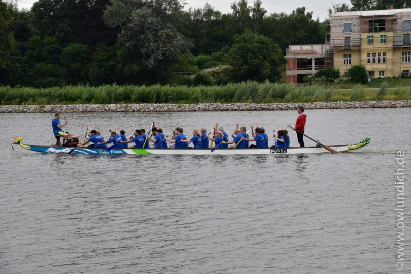Schieder - 1. AOK Drachenbootrennen in Lippe - Bild 02