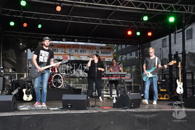 Live in Bad Driburg - 440 HERTZ - Bild 01