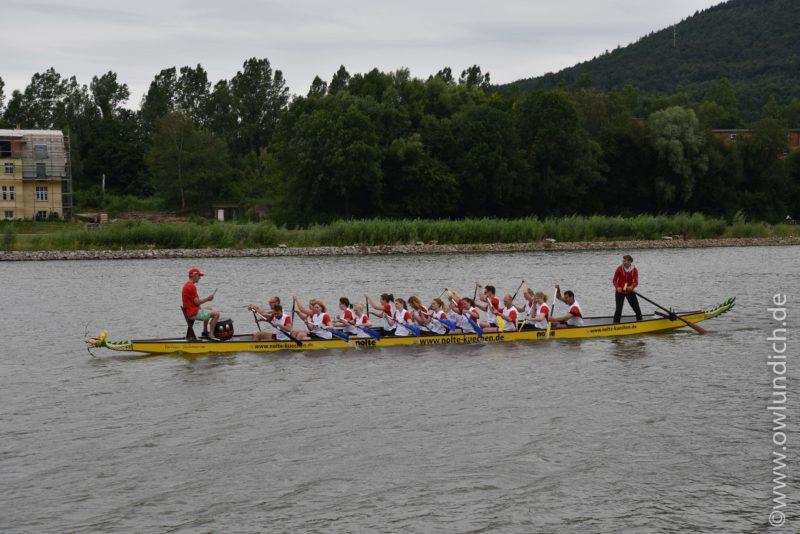 Schieder - 1. AOK Drachenbootrennen in Lippe - Bild 05