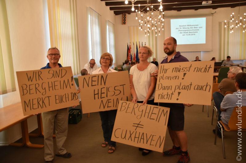 Steinheim - Protest gegen Windkraft - Bild 02